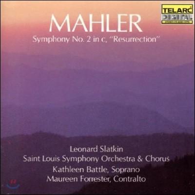Leonard Slatkin 말러: 교향곡 2번 '부활' - 캐슬린 배틀, 모린 포레스터, 세인트 루이스 교향악단과 합창단, 레너드 슬래트킨 (Mahler: Symphony No.2 in C minor 'Resurrection')