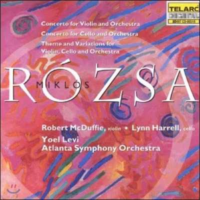 Yoel Levi 미클로스 로자: 바이올린과 첼로를 위한 협주곡 - 린 하렐, 애틀란타 교향악단, 요옐 레비 (Miklos Rozsa: Violin Concerto, Cello Concerto, Theme & Variations)