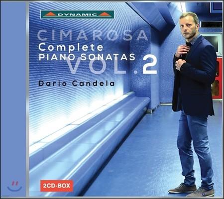 Dario Candela 치마로사: 피아노 소나타 2집 45-88번 - 다리오 칸델라 (Domenico Cimarosa: Complete Piano Sonatas Vol.2)