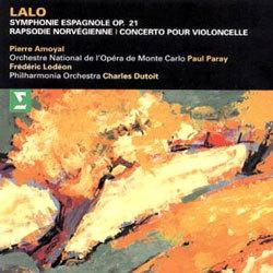 Lalo : Symphonie Espagnole Op.21ㆍRapsodie NorvegienneㆍCello Concerto : AmoyalㆍDutoit