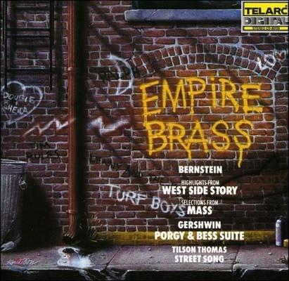 Empire Brass 엠파이어 브라스 - 번스타인: 웨스트 사이드 스토리 / 거쉬인: 포기와 베스 모음곡 / 토마스: 스트릿 송 (Bernstein: West Side Story / Gershwin: Porgy & Bess / Thomas: Street Song)
