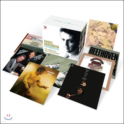 다니엘 바렌보임 소니, 콜롬비아 CBS 녹음 전곡집 (Daniel Barenboim - A Retrospective: The Complete SONY Recordings)