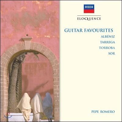 Pepe Romero 페페 로메로의 기타 명곡집 - 알베니스 / 타레가 / 토로바 / 소르 (Guitar Favourites - Albeniz / Tarrega / Torroba / Sor)