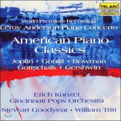 Erich Kunzel 아메리칸 피아노 클래식: 앤더슨 / 거쉬윈 / 고트샬크 / 조플린 / 굴드 (American Piano Classics: Leroy Anderson / Joplin / Gould / Bowman / Gottschalk / Gershwin)