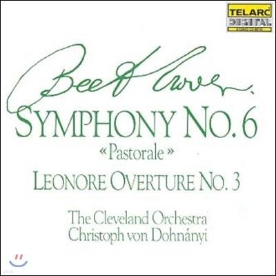 Christoph von Dohnanyi 베토벤: 교향곡 6번 '전원', 레오노레 서곡 - 클리블랜드 오케스트라, 크리스토프 폰 도흐나니 (Beethoven: Symphony Op.68 'Pastorale', Leonore Overture Op.72)
