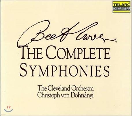 Christoph von Dohnanyi 베토벤: 교향곡 전집 - 클리블랜드 오케스트라, 크리스토프 폰 도흐나니 (Beethoven: The Complete Symphonies Nos.1-9)