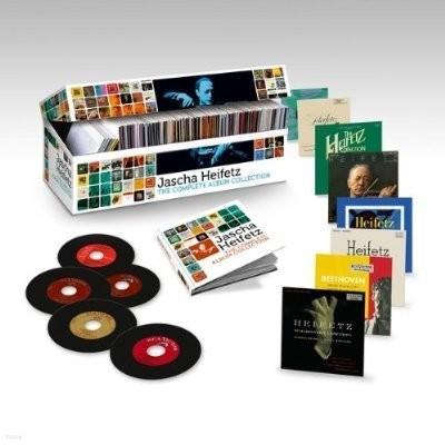 Jascha Heifetz The Complete Album Collection / 오리지날 자켓 콜렉션 : 야사 하이페츠 녹음 전집