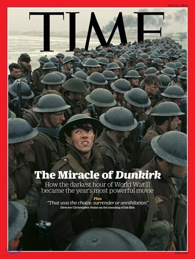 Time (주간) - Asia Ed. 2017년 07월 31일 (영화 '덩케르크' 커버)