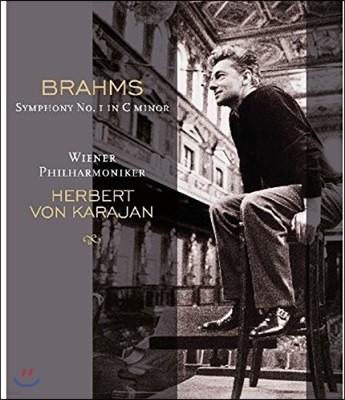 Herbert von Karajan 브람스: 교향곡 1번 - 헤르베르트 폰 카라얀 (Brahms: Symphony Op.68) [LP]