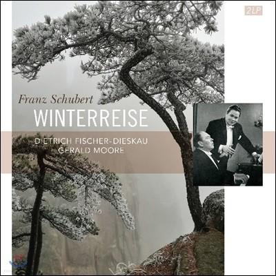 Dietrich Fischer-Dieskau 슈베르트: 가곡 '겨울 나그네' - 디트리히 피셔-디스카우, 제럴드 무어 (Shubert: Lieder 'Winterreise') [2 LP]