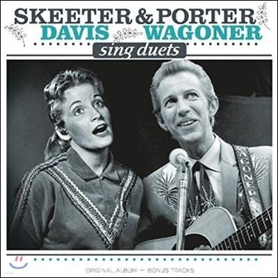 Skeeter Davis, Porter Wagoner (스키터 데이비스, 포터 와고너) - Sings Duets [LP]