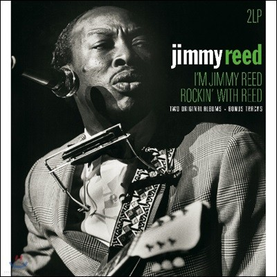 Jimmy Reed (지미 리드) - I'm Jimmy Reed / Rockin' with Reed [2 LP]