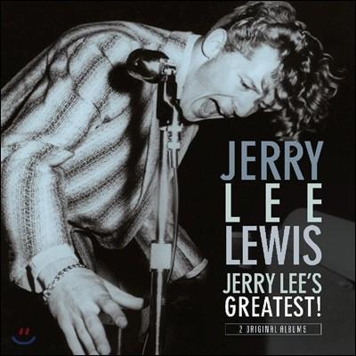 Jerry Lee Lewis (제리 리 루이스) - Jerry Lee Lewis / Jerry Lee's Greatest! [LP]