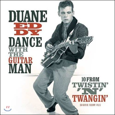 Duane Eddy (듀에인 에디) - Dance With The Guitar Man / 10 From Twistin' N' Twangin' [LP]