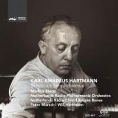 하르트만: 심플리키우스 심플리키씨무스 (Hartmann: Simplicius Simplicissimus) (2SACD Hybrid) - Markus Stenz