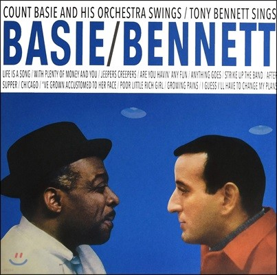 Count Basie & Tony Bennett (카운트 베이시, 토니 베넷) - Basie Swings Bennett Sings [LP]