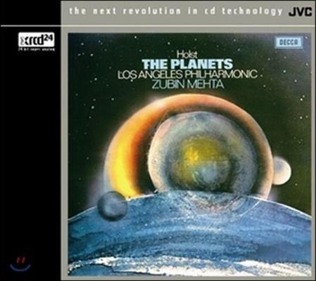 Zubin Mehta 홀스트: 행성 - 주빈 메타, LA 필하모닉 오케스트라 (Holst: The Planets Op.32) [XRCD]