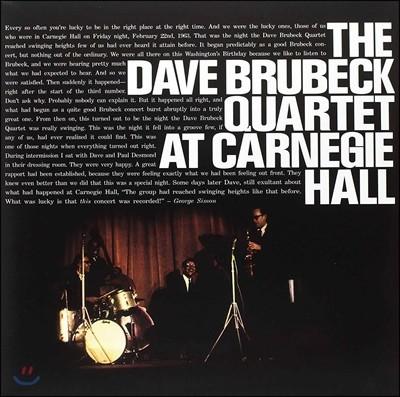 Dave Brubeck Quartet at Carnegie Hall 데이브 브루벡 쿼텟 1963년 카네기홀 라이브 [2 LP]