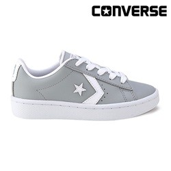 [컨버스키즈] PROLEATHER 76 2V OX WOLF GREY/WHITE 358089C (주니어)