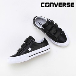 [컨버스키즈] ONE STAR 3V OX BLACK/WHITE/BLACK 658495C (키즈)