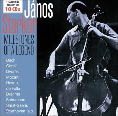 Janos Starker 야노스 슈타커 - 12 오리지널 앨범 컬렉션 (Milestones of a Legend - 12 Original Album Collection)
