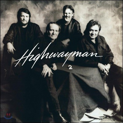 Cash, Nelson, Jennings, Kristofferson (캐쉬, 넬슨, 제닝스, 크리스토퍼슨) - Highwayman 2 [LP]
