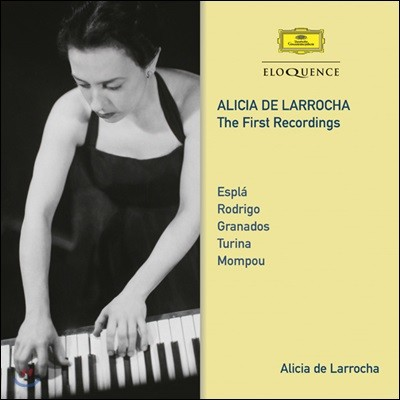 Alicia De Larrocha 알리시아 데 라로차의 첫 녹음집 (The First Recordings - Espla / Rodrigo / Granados / Turina / Mompou)