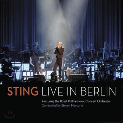 Sting - 스팅 베를린 라이브 (Live in Berlin CD+DVD)