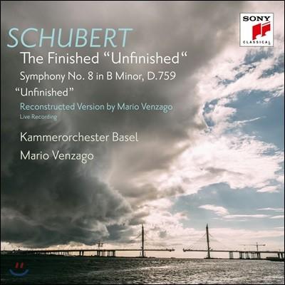 Mario Venzago 슈베르트: 교향곡 8번 '미완성' - 마리오 벤자고의 3, 4악장 완성 버전 (The Finished 'Unfinished' - Schubert: Symphony D.759)