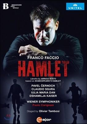 Paolo Carignani / Pavel Cernoch 프랑코 파치오: 햄릿 - 파벨 체르노카, 빈 심포니, 파올로 카리냐니 (Franco Faccio: Hamlet - Bregenz Festival 2016)