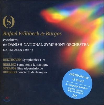 Rafael Fruhbeck de Burgos 베토벤 교향곡 전곡 외 3곡 실황 (Beethoven: Symphonies 1-9 - Fruhbeck De Brugos)