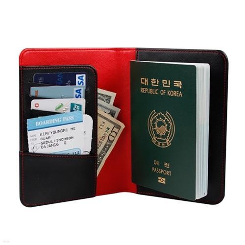 [다린] 사피아노 슬림 여권지갑 여행용품 여권 케이스 파우치