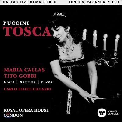 Maria Callas / Tito Gobbi 푸치니: 토스카 - 마리아 칼라스, 티토 곱비 / 1964년 런던 로열 오페라 하우스 실황 (Puccini: Tosca)