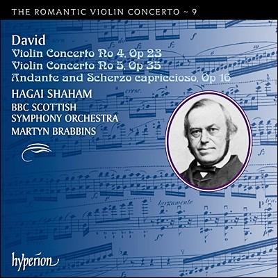Hagai Shaham 낭만주의 바이올린 협주곡 9집 - 다비드 (The Romantic Violin Concerto 9 - Ferdinand David)
