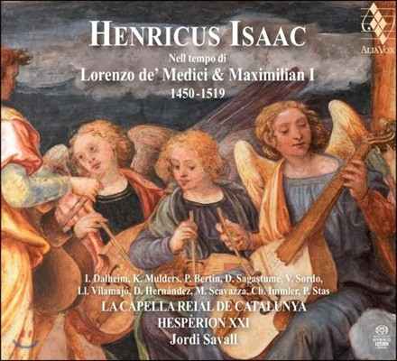 Jordi Savall 하인리히 이자크: 로렌초 데 메디치 & 막시밀리안 1세 시대 음악 - 조르디 사발, 에스페리옹 21 (Heinrich Isaac: Lorenzo de' Medici & Maximilian 1 1450-1519)