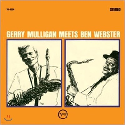 Gerry Mulligan & Ben Webster (게리 멀리건 & 벤 웹스터) - Gerry Mulligan Meets Ben Webster [2 LP]