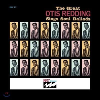 Otis Redding (오티스 레딩) - The Great Otis Redding Sings Soul Ballads [LP]
