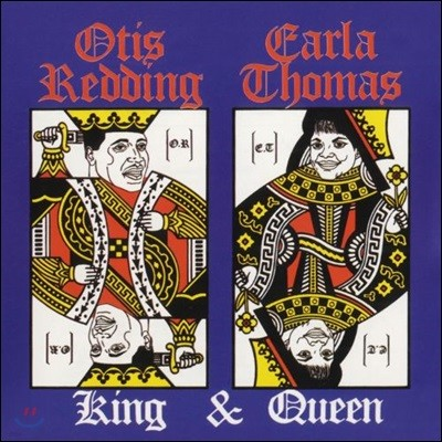 Otis Redding & Carla Thomas (오티스 레딩 앤 칼라 토마스) - King & Queen [LP]