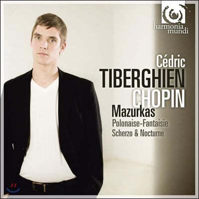 Cedric Tiberghien 쇼팽: 마주르카, 환상의 폴로네이즈, 스케르초, 야상곡 (Chopin: Mazurkas)