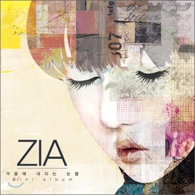 지아 (Zia) - 미니앨범 4집 : 겨울에 내리는 눈물