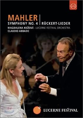 Claudio Abbado 말러: 교향곡 4번 (Mahler: Symphony No.4) 클라우디오 아바도