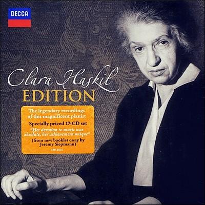 Clara Haskil Edition 클라라 하스킬 에디션 (17CD)