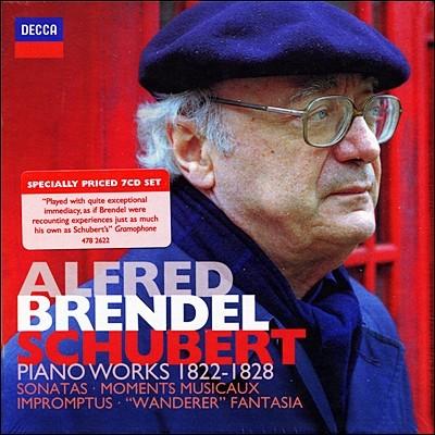 Alfred Brendel 슈베르트: 피아노 소나타, 악흥의 순간, 즉흥곡 등 (Schubert Piano Works 1822-28) 알프레드 브렌델