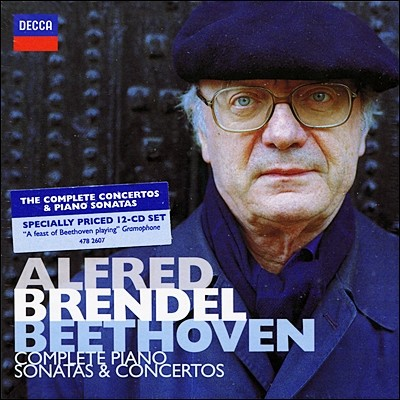 Alfred Brendel 베토벤: 피아노 소나타, 협주곡 전집 [70년대 녹음] - 알프레드 브렌델