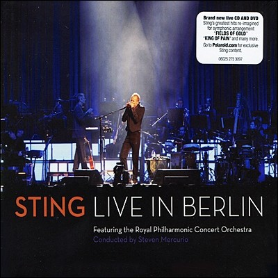 Sting 스팅 베를린 라이브 (Live in Berlin) [CD+DVD]