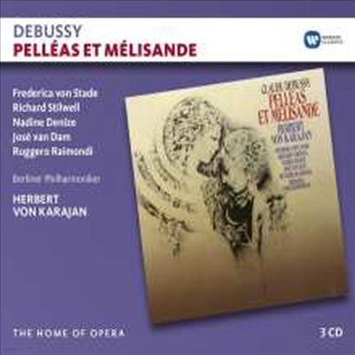 드뷔시: 오페라 '펠레아스와 멜리장드' (Debussy: Opera 'Pelleas et Melisande') (3CD) - Herbert von Karajan
