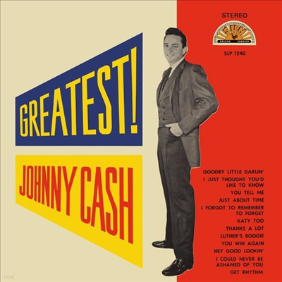 Johnny Cash - Greatest (LP)