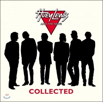 Huey Lewis and the News (휴이 루이스 앤 더 뉴스) - Collected [블랙 디스크 2 LP]