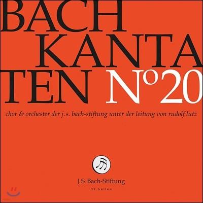 Rudolf Lutz / Chor & Orchester der J. S.Bach-Stiftung 바흐: 칸타타 20집 - BWV67, 96 & 121 - 장크트갈렌 바흐 협회 합창단과 오케스트라, 루돌프 루츠 (Bach: Cantatas No.20)