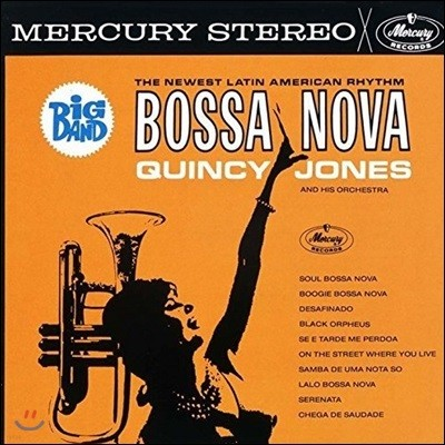 Quincy Jones (퀸시 존스) - Big Band Bossa Nova (Limited Edition)